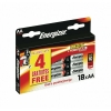 Energizer 18 Piles Alcalines AA (LR06) Max + Powerseal