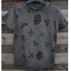 """American People Clothing Tee Shirt  """" Anthracite """" Taille 12 ans"""