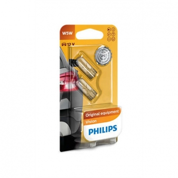 Philips 4 Ampoules PHILIPS W5W 5 W 12 V
