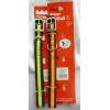 Armitage Collier Nylon Flourescent - 19 mm x 45 cm - Noir/orange