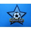 ZZZZZZZZ Ecusson Thermocollant - World Cup - 6.5 cm x 6.5 cm