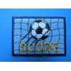 ZZZZZZZZ Ecusson Thermocollant - World Cup - 6.5 cm x 4.7 cm
