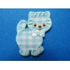ZZZZZZZZ Ecusson Thermocollant - Motif Chat - 4.5 cm x 3.5 cm