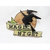 ZZZZZZZZ Ecusson Thermocollant - Magic Night - 4.5 cm x 6 cm