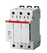 ABB 2 Coupe Circuit E933/32 - 3P - 10.3 x 38 mm