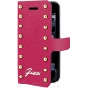 Guess  Etui Folio Clouté - iPhone 5/5S - Rose